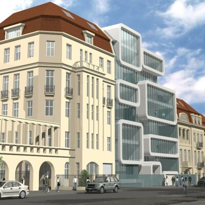 competition architect project in berlin hackel kaape and trimonis architects